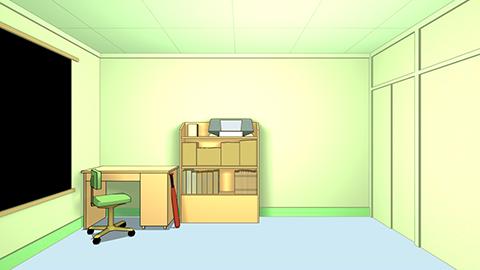 FLCL Naota's Room