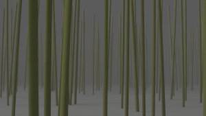 Instanced Bamboo Forest