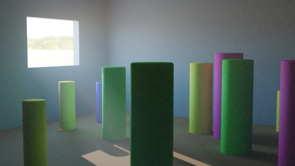 Volumetric render