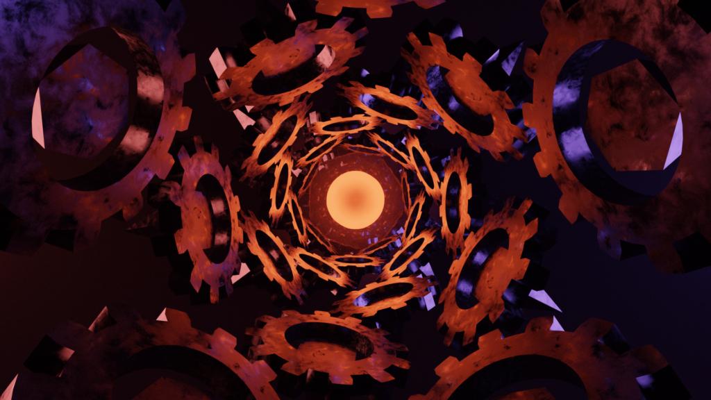 Original central sphere render