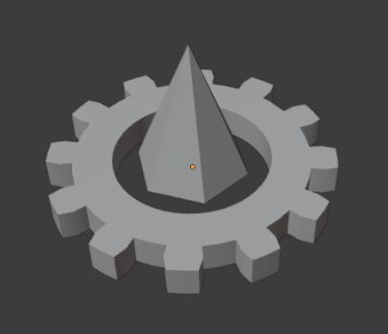 Single gear geometry